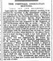 Football Association Meeting (Sheffield Daily Telegraph) 1877-04-18.png