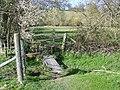 Footbridge and stile near Homington - geograph.org.uk - 747063.jpg