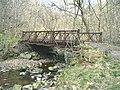 Footbridge near Giedd Forest car park - geograph.org.uk - 396916.jpg