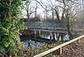 Footbridge over the Mill race by Countess Weir - geograph.org.uk - 1109014.jpg