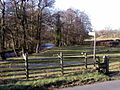 Footpath and Stile near the River Burn - geograph.org.uk - 312500.jpg