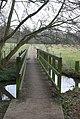 Footpath over the stream, Berkswell - geograph.org.uk - 1187110.jpg