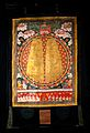 Footprints of the Buddha (?). Gouache painting by a Tibetan Wellcome V0018302.jpg