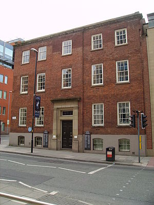 Richard Cobden - Cobden's Manchester home on Quay Street.