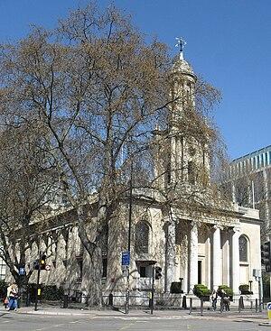 Holy Trinity Church, Marylebone - Image: Former Holy Trinity Church, Marylebone Road, London (Io E Code 417828)