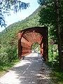 Former railway bridge, east from Gozd Martuljek 02.jpg