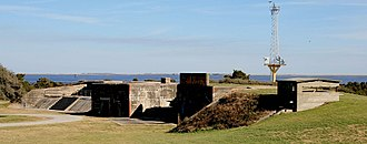 Caswell Beach, North Carolina - Fort Caswell (Batteries McKavett and McDonough)