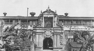 Fort Santiago - American occupied Fort Santiago in 1940