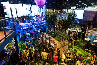 Epic Games - Epic's Fortnite exhibition space at E3 2018