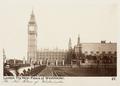 Fotografi av Westminsterpalatset. London, England - Hallwylska museet - 106684.tif