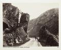 Fotografi av vägen till Låteforsen, Odde i Hardanger, Norge - Hallwylska museet - 105723.tif