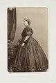 Fotografiporträtt på kvinna - Hallwylska museet - 107752.tif