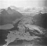 Fourpeaked Glacier, terminus of valley glacier, September 4, 1977 (GLACIERS 6522).jpg