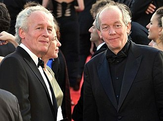 Dardenne brothers - The Dardenne Brothers at the 2009 Cannes Film Festival.