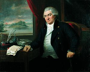 Dronninggård - Frédéric de Coninck  painted by Daniel Orme in 1799