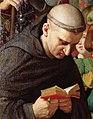 Fr. Jean Pasquerel (détail d'Ingres, Jeanne d'Arc au sacre du roi Charles VII).jpg