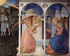 The Annuntiation, 1430-1432, by Fra Angelico