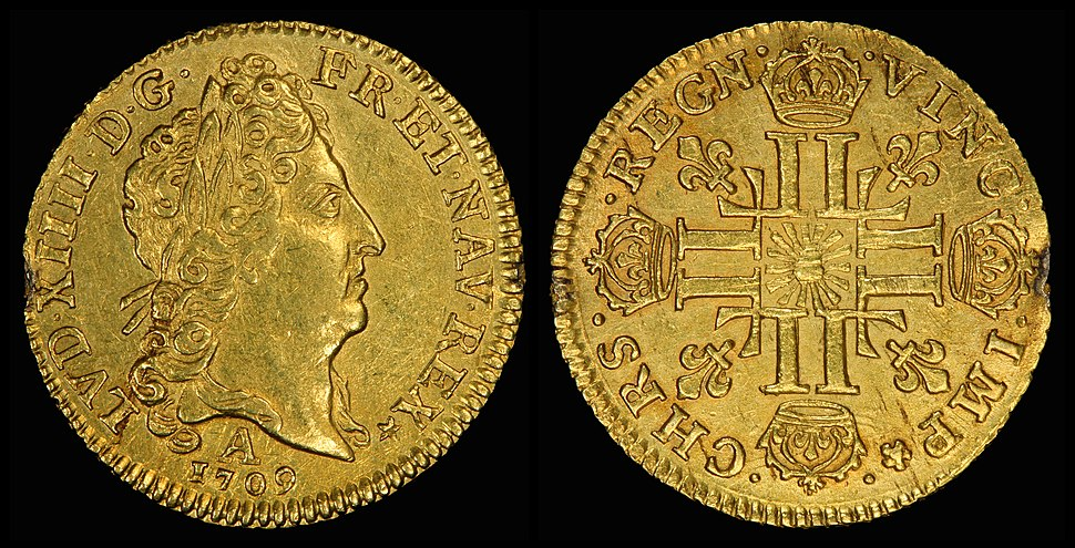 France 1709-A One Louis d%27Or