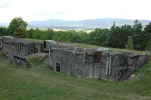 France Alsace Bas-Rhin Fort de Mutzig 17
