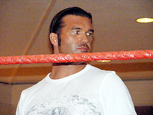 "Frankie Kazarian - Kazarian at the Walter ""Killer"" Kowalski Memorial Show in Malden, Massachusetts on October 26, 2008."
