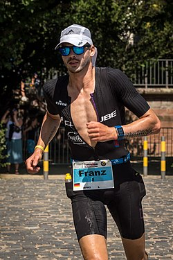 beim Ironman Germany (Ironman European Championships) in Frankfurt am Main 2019