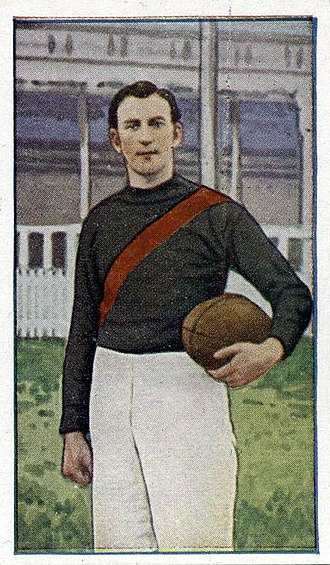 Essendon Football Club - Fred Baring during the 1920s