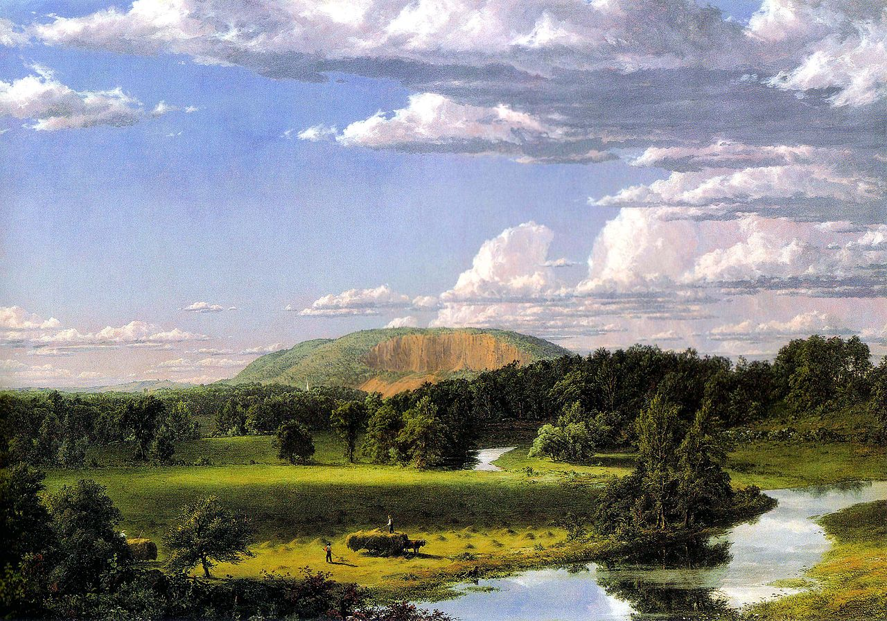 File frederic church west rock new for Frederick church paintings
