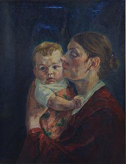 Fritz Flebbe Mutter und Kind