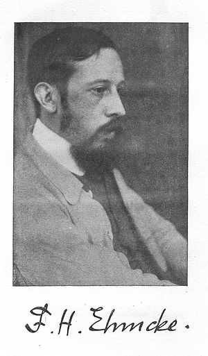 Fritz Helmuth Ehmcke - 1920 portrait
