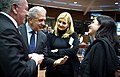 From left to right- Mr Dimitrios AVRAMOPOULOS, Member of the European Commission; Ms Vesna GYORKOS ZNIDAR, Slovenian Minister for the Interior. (25138682062).jpg