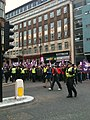 Front of a march against the English Defence League - geograph.org.uk - 1948535.jpg
