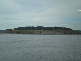Fort Casey - Fort Casey, seen from the water