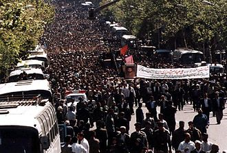 Ali Sayad Shirazi - Funeral of General Ali Sayad Shirazi