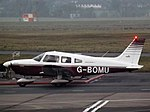 G-BOMU Piper Cherokee Archer 28 (32418066806).jpg