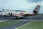 G-DJBE Cessna Citation II Coventry 06-07-81 (27483556619).jpg