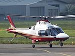 G-IVJM Agusta A109 Helicopter (26906993632).jpg