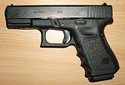 The compact Glock 19.