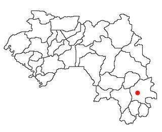 Beyla Prefecture Prefecture in Nzérékoré Region, Guinea