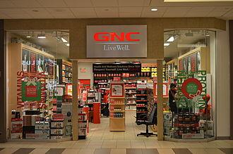 GNC (store) - A GNC store at Promenade