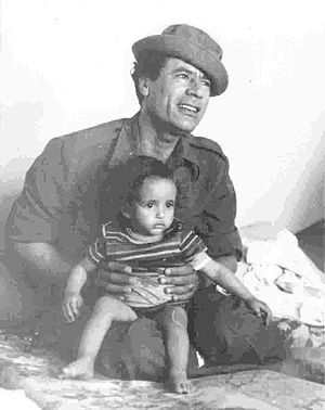 Libyan Revolutionary Command Council - Gaddafi in 1976.