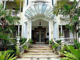 Gala–Rodriguez Ancestral House - Entrance