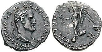 Galba - Obverse Portrait of Galba, AD 68-69, Roman Mint
