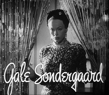 Cropped screenshot of Gale Sondergaard from th...