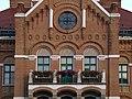 Gaswerk Simmering Verwaltungsgebäude Fassade - Koordinaten zeigen nur die Einfahrt.jpg