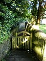 Gate and footpath to the Church of St Anne, Carlecotes - geograph.org.uk - 1462810.jpg