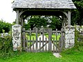 Gate to Harford churchyard - geograph.org.uk - 1756161.jpg