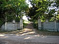 Gated entrance to Hasfield Court - geograph.org.uk - 987215.jpg
