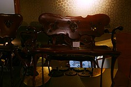 Gaudi's furnitures exposition - Casa Batlló - Barcelona 2014 (2).JPG