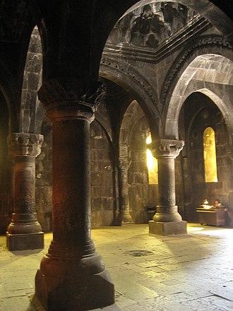 Gavit - Gavit of Geghard Monastery in Armenia (UNESCO World Heritage Site)
