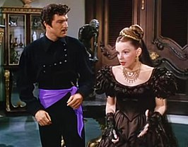 Gene Kelly en Judy Garland in The Pirate